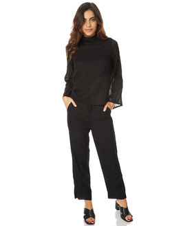 BLACK WOMENS CLOTHING THE BARE ROAD PANTS - 791051-02BLK