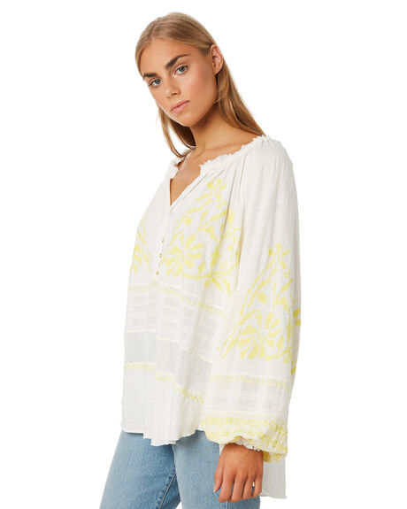 IVORY WOMENS CLOTHING FREE PEOPLE FASHION TOPS - OB1089061IVORY