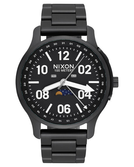 BLACK LUM MENS ACCESSORIES NIXON WATCHES - A12082474