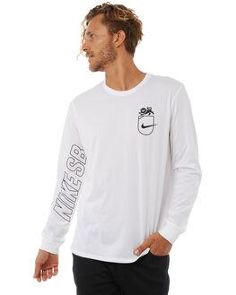 WHITE MENS CLOTHING NIKE TEES - 892819100