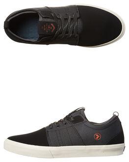 UTILITY BLACK MENS FOOTWEAR KUSTOM SNEAKERS - 4969105KUBLK