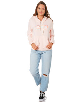 ECHO PINK WOMENS CLOTHING HURLEY JUMPERS - CD7141-610