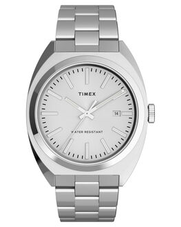 SILVER MENS ACCESSORIES TIMEX WATCHES - TW2U15600SIL
