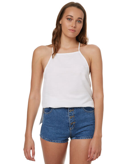 WHITE OUTLET WOMENS ELWOOD FASHION TOPS - W73312WHT