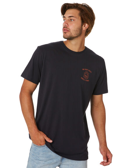 BLACK MENS CLOTHING SWELL TEES - S5202011BLACK