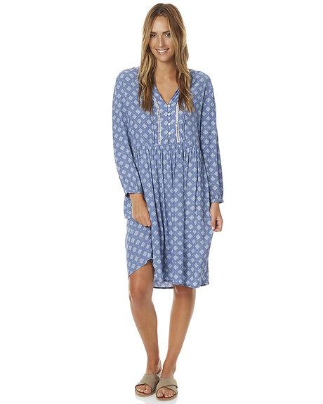 STEEL WOMENS CLOTHING RHYTHM DRESSES - JAN17G-DRS06-STE