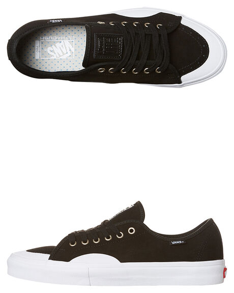 BLACK WHITE MENS FOOTWEAR VANS SKATE SHOES - VN-047ALSFBKW 05629bd5a