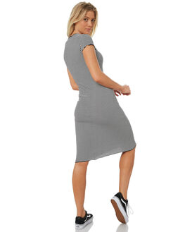 BLACK COMBO WOMENS CLOTHING VOLCOM DRESSES - B1331803BLC
