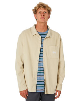 CEMENT MENS CLOTHING STUSSY SHIRTS - ST005411CMNT