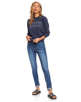 MOOD INDIGO WOMENS CLOTHING ROXY JUMPERS - ERJFT04175-BSP0