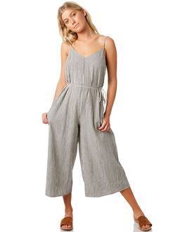 BLACK WOMENS CLOTHING BILLABONG PLAYSUITS + OVERALLS - 6581512BLK