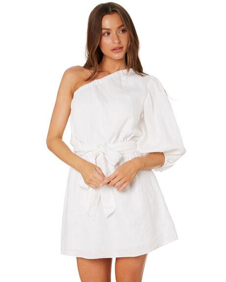 WHITE WOMENS CLOTHING MLM LABEL DRESSES - MLM699AWHITE