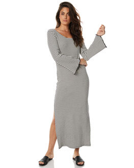 STRIPE WOMENS CLOTHING ZULU AND ZEPHYR DRESSES - ZZ1495STRP