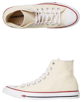 NATURAL WOMENS FOOTWEAR CONVERSE SNEAKERS - 163304NAT