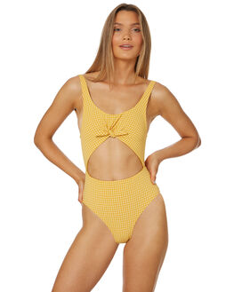 GOLD WOMENS SWIMWEAR BILLABONG ONE PIECES - 6582598GOL