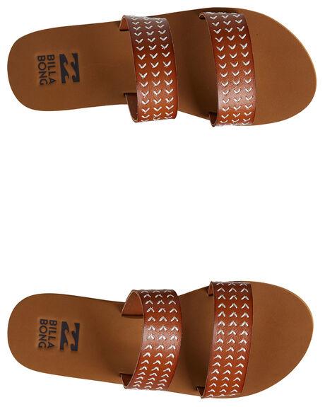 TAN WOMENS FOOTWEAR BILLABONG SLIDES - BB-6604804-TAN