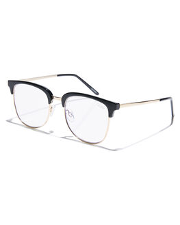 BLACK CLEAR MENS ACCESSORIES QUAY EYEWEAR SUNGLASSES - QM-000486BLKCL