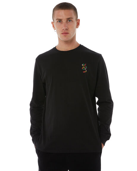 BLACK OUTLET MENS SWELL TEES - S5183101BLACK