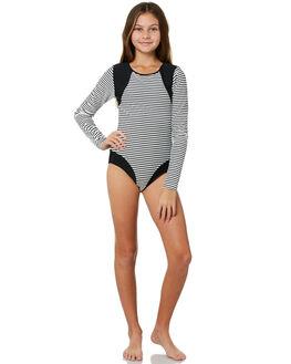 BLACK WHITE BOARDSPORTS SURF SEAFOLLY GIRLS - 15592BKWHT