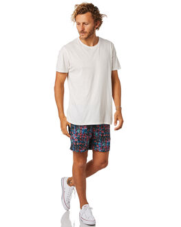 MULTI MENS CLOTHING ACADEMY BRAND BOARDSHORTS - 19S704MUL