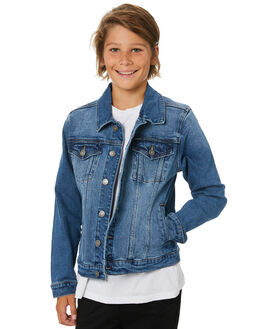 TERRITORY BLUE KIDS BOYS RIDERS BY LEE JUMPERS + JACKETS - R-30149T-NE8