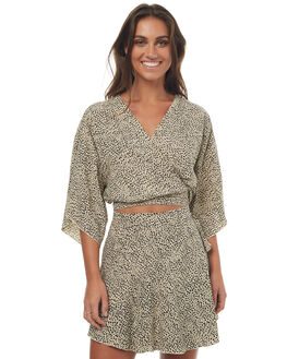 LEOPARD PRINT WOMENS CLOTHING RUE STIIC FASHION TOPS - S01717PLEOP
