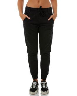 BLACK WOMENS CLOTHING BETTY BASICS JEANS - BB803T18BLK