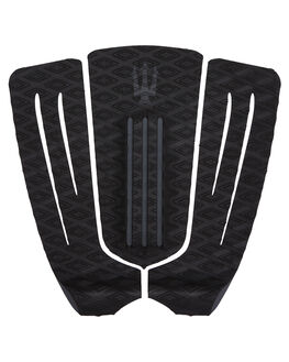 BLACK CHARCOAL SURF HARDWARE FAR KING TAILPADS - 1211BLKCH