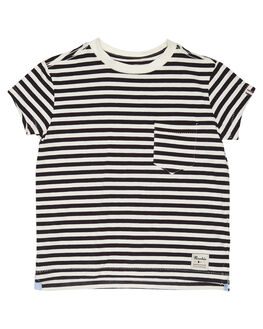 NAVY WHITE KIDS TODDLER BOYS ROOKIE BY THE ACADEMY BRAND TOPS - R19S415