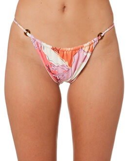 RETRO FLORAL WOMENS SWIMWEAR FELLA SWIM BIKINI BOTTOMS - FS-B-031RET