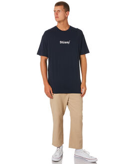 BLUE NIGHTS MENS CLOTHING STUSSY TEES - ST091003BLN