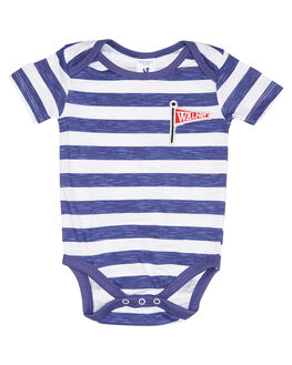NAVY WHITE STRIPE KIDS BABY WALNUT CLOTHING - SP19WRNONESNVWHT