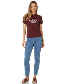 BORDEAUX WOMENS CLOTHING ROLLAS TEES - 12911-2699