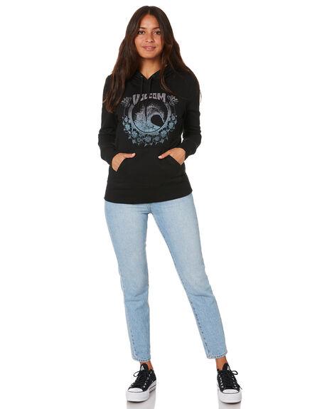 BLACK WOMENS CLOTHING VOLCOM JUMPERS - B4102000BLK