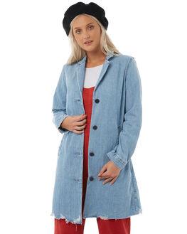 JOSETTE STONEWASH WOMENS CLOTHING LEVI'S JACKETS - 39445-0003JOS