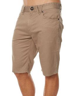 BEIGE MENS CLOTHING VOLCOM SHORTS - A0911708BGE