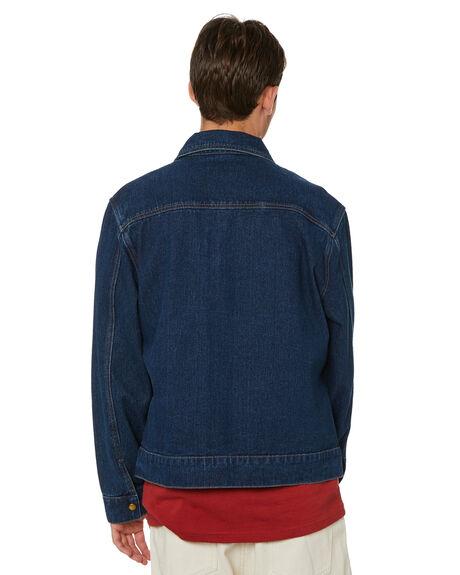 BLUE GRAY MENS CLOTHING XLARGE JACKETS - XL013502BLUGR