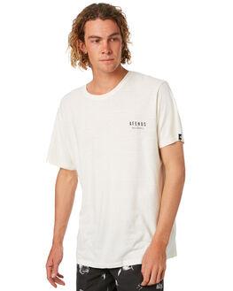 NATURAL MENS CLOTHING AFENDS TEES - M182014NATRL