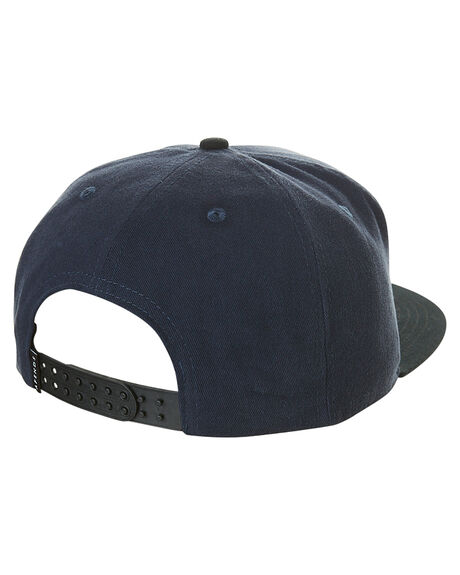 NAVY MENS ACCESSORIES AFENDS HEADWEAR - 13-02-049NVY
