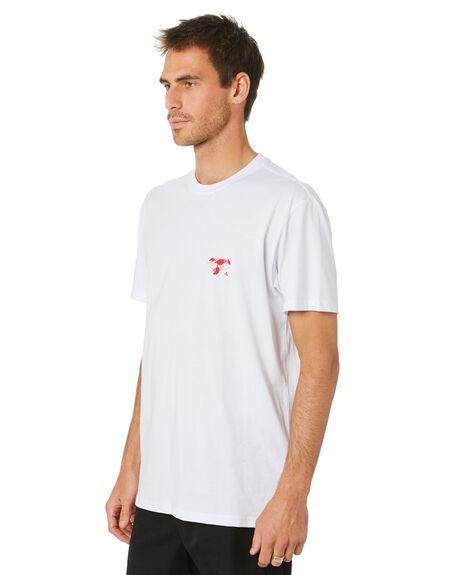 WHITE MENS CLOTHING HUFFER TEES - MTE94J4038167WHT