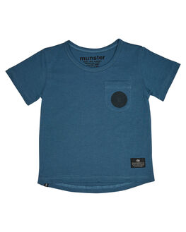 BLUE KIDS TODDLER BOYS MUNSTER KIDS TOPS - MK182TE12BLU