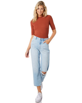 RUST WOMENS CLOTHING SWELL TEES - S8194002RUST