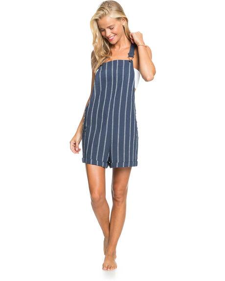 MOOD INDIGO WILL STR WOMENS CLOTHING ROXY PLAYSUITS + OVERALLS - ERJWD03536-BSP4