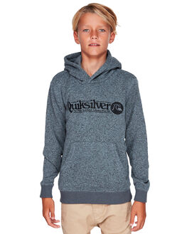 DARK GREY HEATHER KIDS BOYS QUIKSILVER JUMPERS + JACKETS - EQBFT03511-KRPH