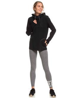 TRUE BLACK WOMENS CLOTHING ROXY JUMPERS - ERJFT03900-KVJ0