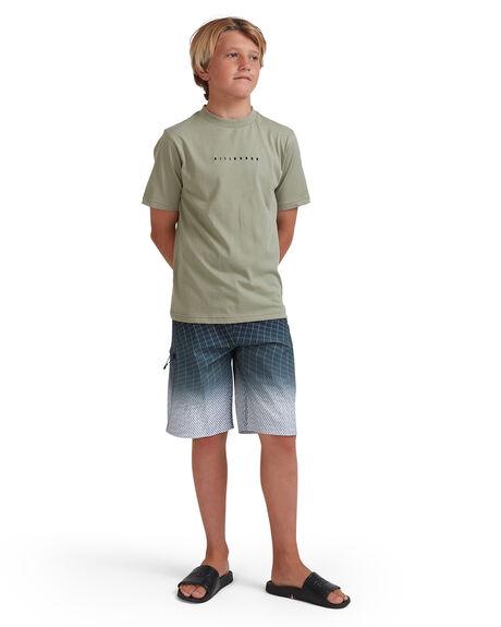 CHARCOAL KIDS BOYS BILLABONG BOARDSHORTS - 8513413-CHR