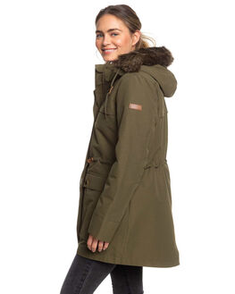 IVY GREEN WOMENS CLOTHING ROXY JACKETS - ERJJK03283-CRB0