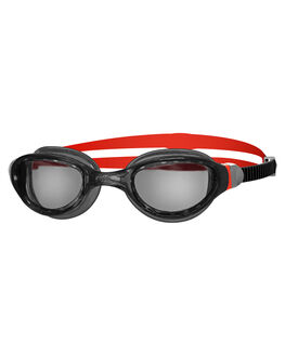 BLACK RED SMOKE BOARDSPORTS SURF ZOGGS SWIM ACCESSORIES - 302516BLCOP