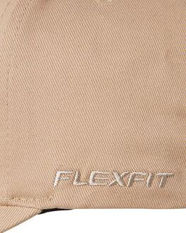 KHAKI MENS ACCESSORIES FLEX FIT HEADWEAR - COS-80782KHA
