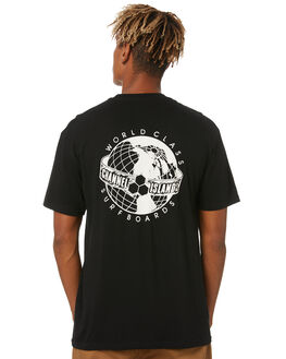 BLACK MENS CLOTHING CHANNEL ISLANDS TEES - 19343100012BLK
